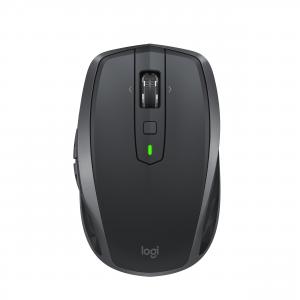 Logitech MX Anywhere 2S Wireless a RF + Bluetooth 4000DPI Mano destra Nero, Grigio mouse