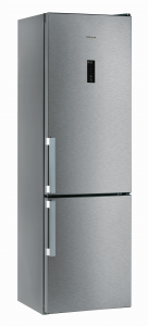 Whirlpool WTNF 92O MX H Libera installazione 368L A++ Acciaio inossidabile frigorifero con congelatore