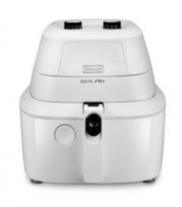DeLonghi IdealFry FH2101 Hot air fryer Singolo Bianco Indipendente