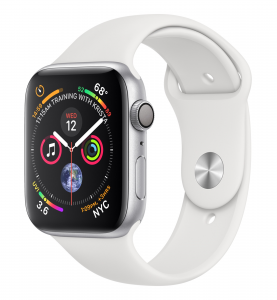Apple Watch Series 4 smartwatch Argento OLED GPS (satellitare)