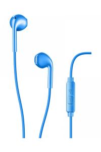 AQL Live Auricolare Stereofonico Cablato Blu auricolare per telefono cellulare