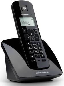 Motorola C401E DECT Identificatore di chiamata Nero telefono