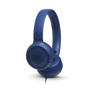 JBL Tune 500 auricolare per telefono cellulare Stereofonico Padiglione auricolare Blu Cablato