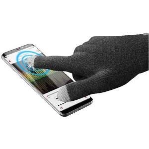 Vivanco TOUCHGLOVE180MK Touchscreen gloves Black,Grey