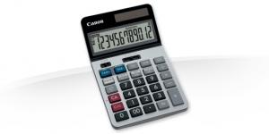 Canon KS-1220TSG calcolatrice Scrivania Nero, Blu, Rosso, Argento