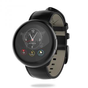 MyKronoz ZeRound2 HR Premium smartwatch Black TFT 3.1 cm (1.22