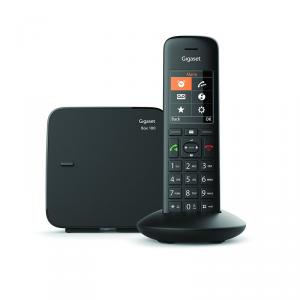 Gigaset C570 Analog/DECT telephone Nero Identificatore di chiamata