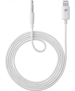 Cellularline AUX MUSIC CABLE - Lightning Cavo aux per connessione ad autoradio