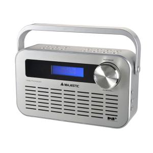 New Majestic DAB-843 radio Portatile Digitale Argento
