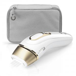 Braun Silk-expert Pro 81677894 depilazione a luce pulsata Bianco, Oro Luce pulsata intensa (IPL)