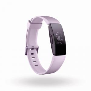Fitbit FB413LVLV-EU rilevatore di attività Wristband activity tracker Nero, Rosa OLED