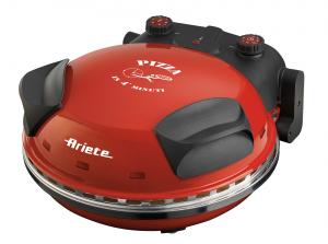 Ariete 0909 macchina e forno per pizza 1 pizza(e) Nero, Rosso 1200 W