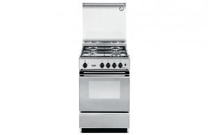 DeLonghi SEX 554 NED cucina Piano cottura Acciaio inossidabile Gas B