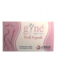 GYNE' OVULI VAGINALI A BASE DI ACIDO IALURONICO E ACIDO LATTICO