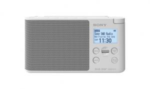 Sony XDR-S41D radio Portatile Digitale Bianco