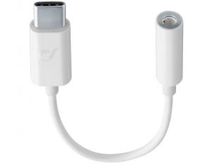Vivanco MUSICENABLERTYPECW cavo audio 0,15 m USB C 3.5mm Bianco