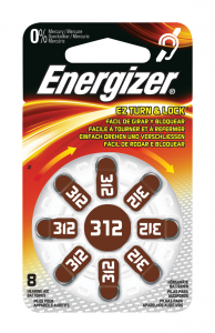 Energizer ENZINCAIR312-8 batteria per uso domestico