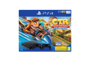Sony PS4, 1TB + Crash TR + DS4 Nero 1000 GB Wi-Fi