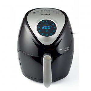 Ariete Airy Fryer Digital Hot air fryer Singolo Nero, Argento Indipendente