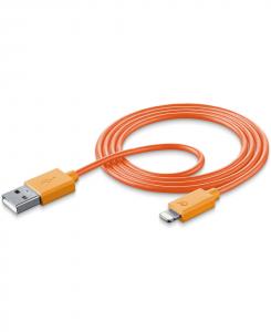 Cellularline Data Cable #Stylecolor - Lightning Cavo per la ricarica e sincronizzazione dei dati colorato