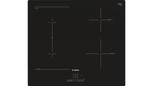 Bosch Serie 4 PVS611BB5E piano cottura Nero Incasso 60 cm A induzione 4 Fornello(i)