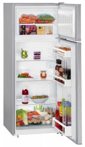 Liebherr CTel 2531 frigorifero con congelatore Libera installazione Argento 233 L A++