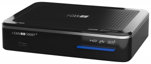 ADB i-CAN 5000T+ set-top box TV Terrestre Nero