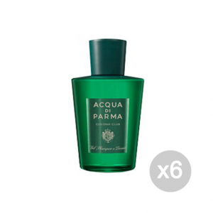 Set 6 ACQUA DI PARMA Colonia Club Gel Doccia 200 Ml Bagnoschiuma