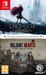 Compil Child Of Light + Valiant Hearts (Italiano) Switch