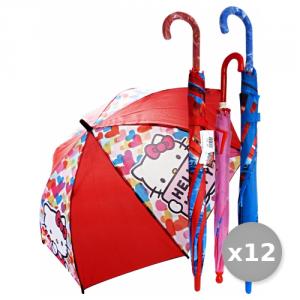 VERRI Set 12 Ombrello Grande Automatico WALT DISNEY Articolo 508 Accessori Per la Casa