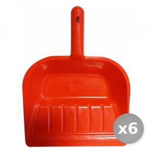 Set 6 Paletta Immondizie Plastica Articolo 0480 Attrezzi Pulizie