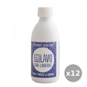 Set 12 RAMPI Cura Lavatrice 250 ml Eccu250 Detersivo Detergente