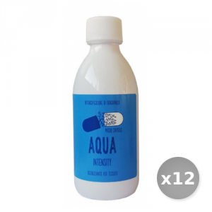 Set 12 LAVAVERDE Essenza intensity aqua 210 ml prodotto per la pulizia di casa