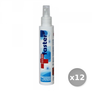 Set 12 LAVAVERDE Igienfaster blue multiuso spray 100 ml prodotto per la casa