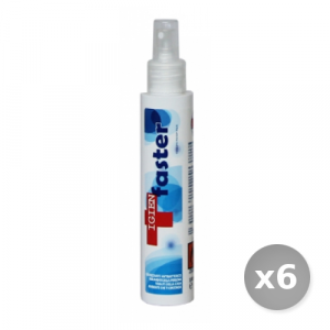 Set 6 LAVAVERDE Igienfaster blue multiuso spray 100 ml prodotto per la casa