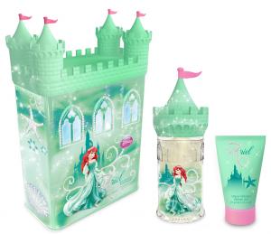 DISNEY Idea Regalo Sirenetta Castle Docciasciuma Cura del corpo 50 ml