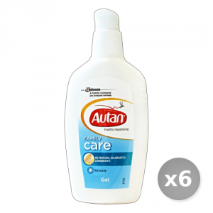 Set 6 AUTAN Family gel Antipuntura 100 ml - Insetticidi e Repellenti