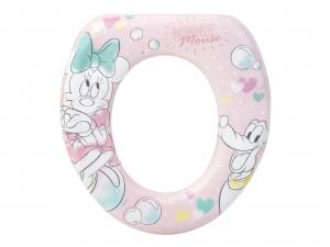 LULABI Riduttore Wc Soft Disney Minnie Tender Plastica e Pvc