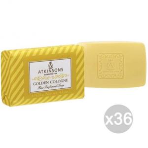 Set 36 ATKINSON Sapone Golden Cologne-Giallo Cura E Pulizia Del Corpo