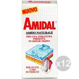 Set 12 AMIDAL Amido Naturale Stiro 250 Gr. Accessorio Per Stirare