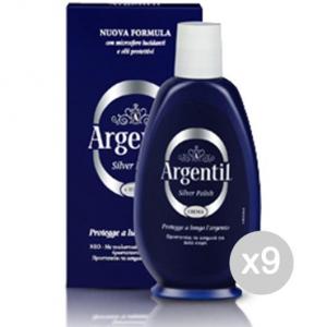Set 9 ARGENTIL Crema Liquida Ml 150 Detersivi E Pulizia Della Casa