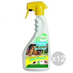 Set 12 COPYR Insetti Spray Sprin 500 (Bio Kill ) Giardino E Cura Delle Piante