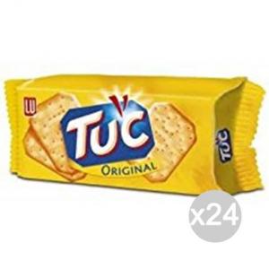 Set 24 SAIWA Tuc Cracker Original Gr100 625802 Snack E Merenda Salata