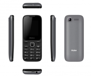 HAIER M220 Black Bluetooth Dualsim Smartphone Telefono cellulare