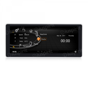 ANDROID 10.25 pollici navigatore per Audi A4 2017 2018 GPS WI-FI Bluetooth MirrorLink 2GB RAM 32GB ROM