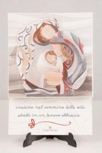 Cartapietra Portachiavi Tenero Abbraccio 24x17