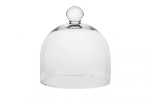Campana cloche in vetro cm.16,5x17x18h