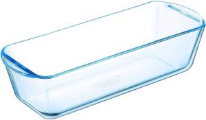 Stampo contenitore per plum cake in vetro borosilicato cm.28x12x7,5h
