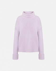 Maglione in misto lana con ruches