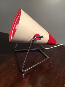 LAMPADA INFRARED -  KL 7500L by Charlotte Perriand per Philips - Anni '60
